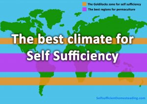 Best climate for Self Sufficiency & Permaculture