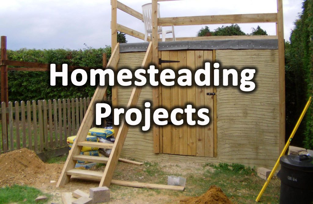 Homesteading projects
