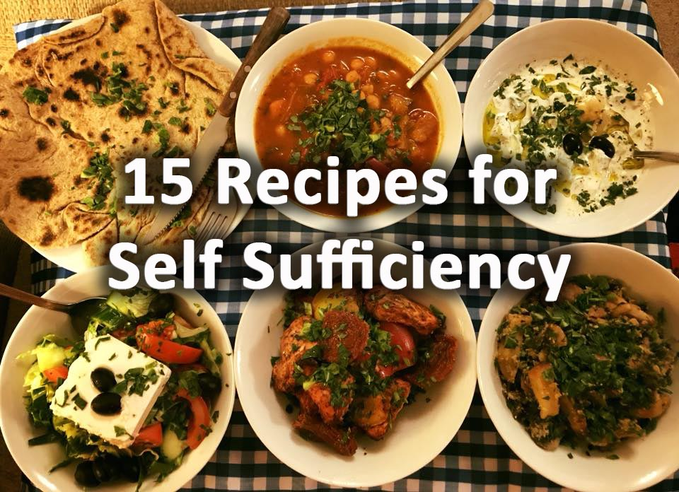 15 recipes for self sufficiency