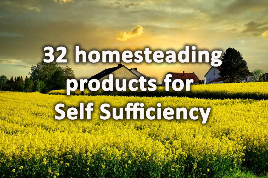 Homesteading products